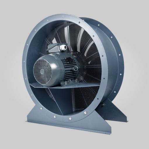 Ventilateur hélicoïdal à virole 1