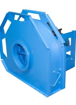 Centrifugal ventilators for wood chips transport