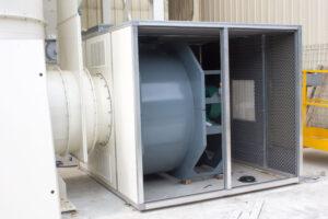 Ventilateurs centrifuges pour le traitement du dépoussiérage industriel