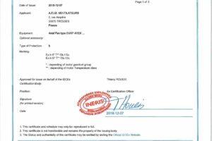 Ventilateurs industriels certifiés pour les ambiances ATEX et IECEx